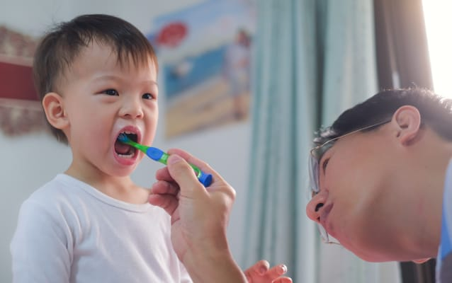 Toddler Toothbrush, Toothworks Dental Clinics